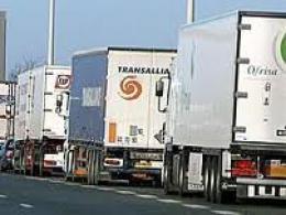 huelga camiones