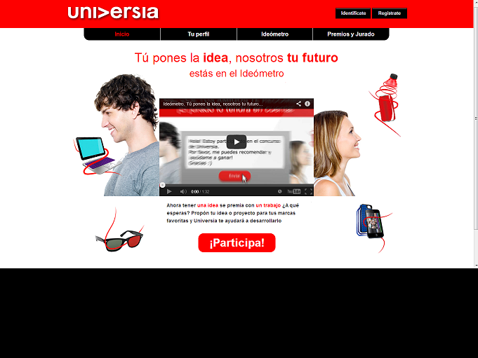 universia1 UNIVERSIA APUESTA POR LOS JVENES EMPRENDEDORES