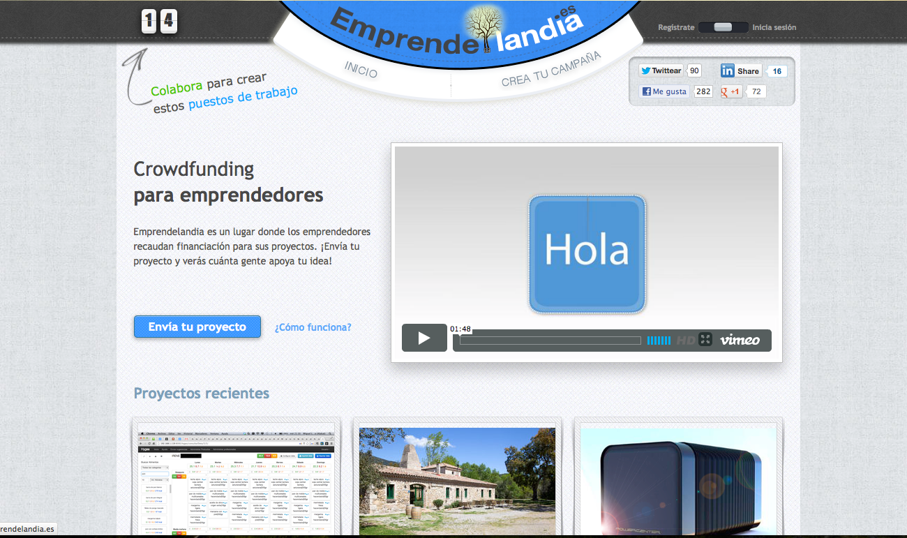 emprendelandia Se lanza una plataforma de Crowdfunding para la creacin de empleo